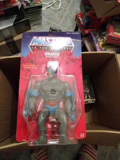 Figuras De Master Universe Stratos 45cm Mattel