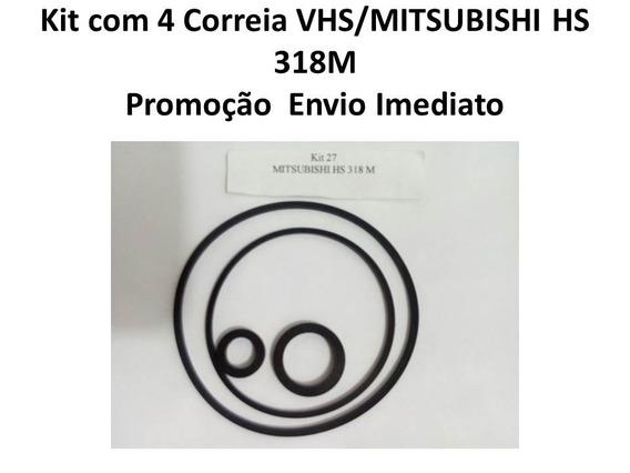 Kit Correia Mitsubishi Vhs 318m 4peças No Kit Envio Imediato