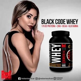 Black Code Whey 900g Red Series Musculação