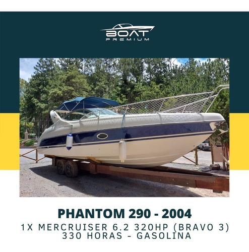 Imagem 1 de 11 de Phantom 290, 2004, 1x Mercruiser 6.2 320hp - Runner - Real