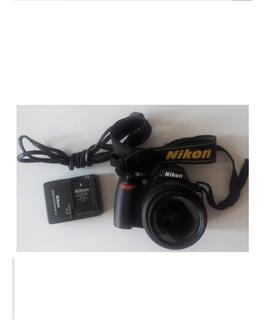 Cámara Fotográfica Nikon D60 Usada