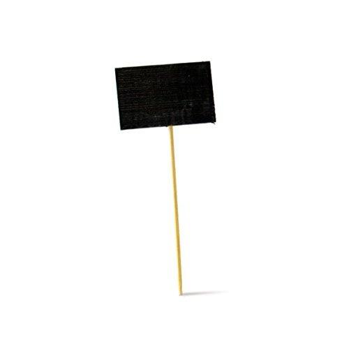 Imagen 1 de 8 de Picknwood Pk209bbtikon9 Pick De Bambú Con Rectangular Slate