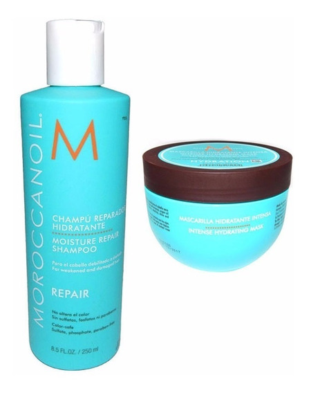 Moroccanoil Kit Shampoo Repair X250 + Mascara Hydration X250