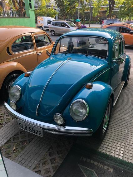 Volkswagem Fusção 1971 Azul