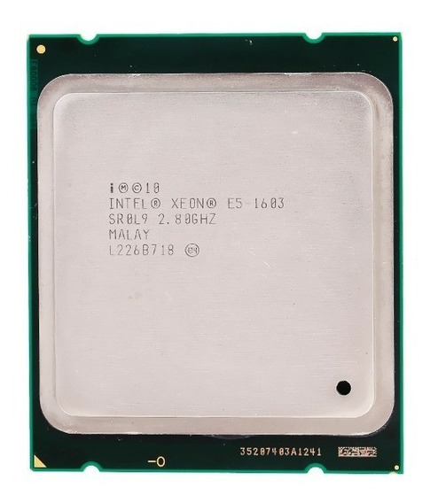 Processador Xeon E5-1603 2.8ghz