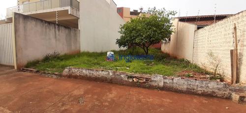 Terreno À Venda, 269 M² Por R$ 195.000,00 - Jardim Pacaembu - Londrina/pr - Te0445