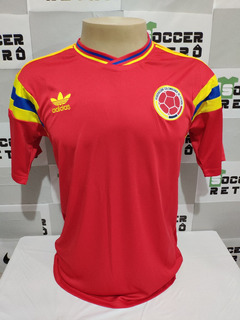 Camisa Colombia Copa Do Mundo 1990 Valderrama 10 À Pronta Entrega