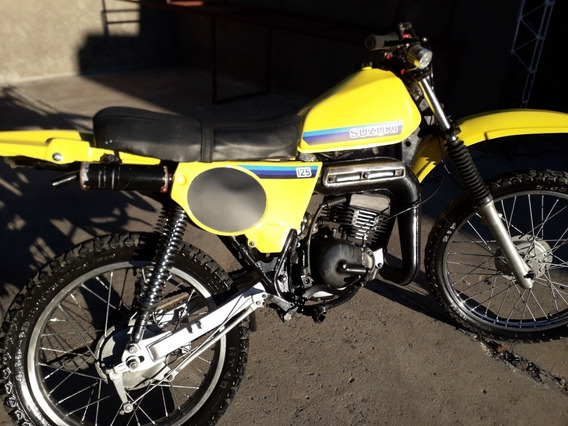 Suzuki 125 Ts Er 1984