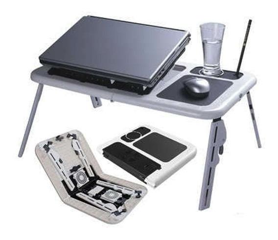 Mesa Notebook Cama Apoio Dobrável Suporte Portátil Cooler