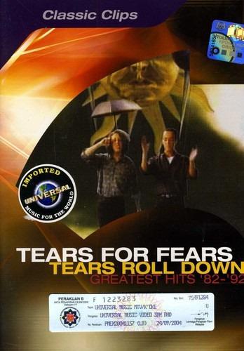 Tears For Fears Tears Roll Down Greatest 1982-92 Dvd Imp