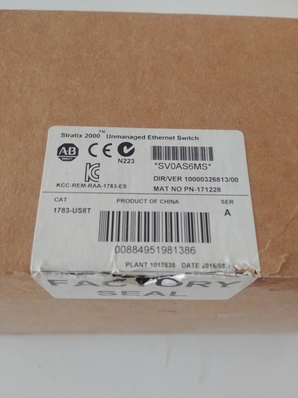 1783-us8t Switch Industrial Allen Bradley Stratix 2000