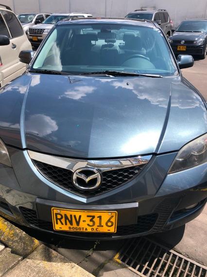 Mazda 3 Automatico 1.6 Gris Excelente Estado