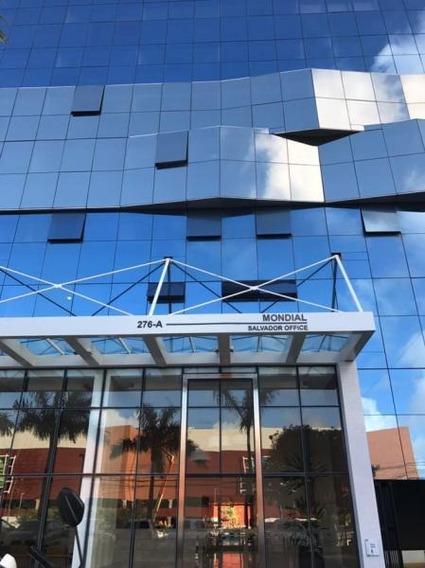 Sala Comercial Para Locação Em Salvador, Caminho Das Arvores, 1 Dormitório, 1 Banheiro, 1 Vaga - 397