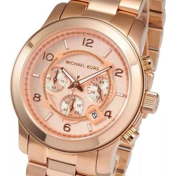 Relógio Michael Kors Mk8096 100% Original 1 Ano De Garantia