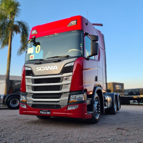 Scania Highline R450 6x2 2021 - Zero Km - 3,35m Entre Eixo