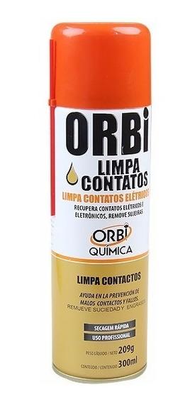 Limpa Contatos Elétricos 300ml - Orbi - Incrível!!