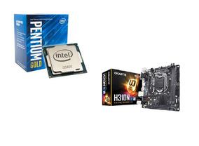 Kit Intel Pentium G5400 Mb Placa Mãe Gigabyte H310mds2