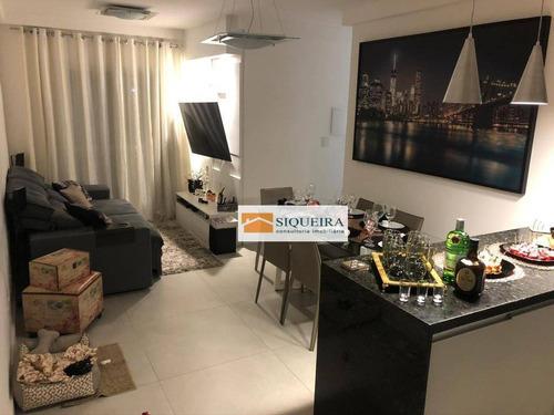 Imagem 1 de 18 de Alpha Club - Apartamento Com 3 Dormitórios À Venda, 68 M² Por R$ 370.000 - Alpha Club Residencial - Votorantim/sp - Ap1865