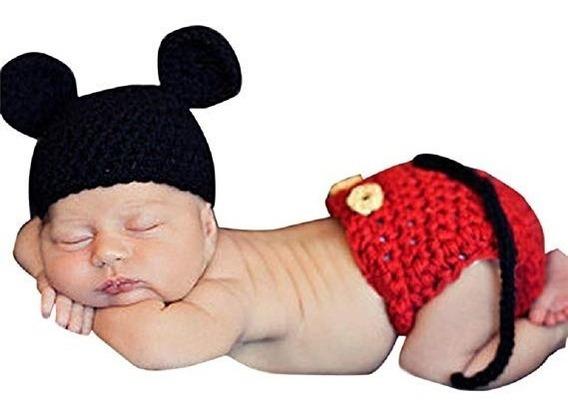 Kit Mickey - Newborn - Ensaio Fotografico Do Bebê