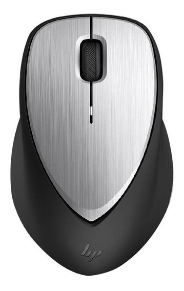 Mouse HP Envy 500 preto e prata