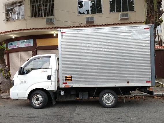 Bongo Baú 2013 - Raccor, Pneus Novos, Manutenção Impecável
