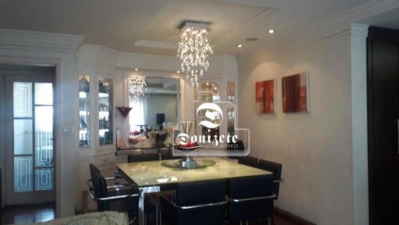 Apartamento Com 3 Dormitórios À Venda, 156 M² Por R$ 720.000,00 - Vila Assunção - Santo André/sp - Ap12726