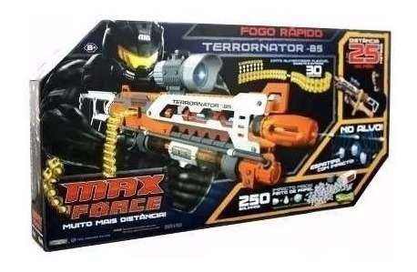 Lançador Arma Brinquedo Max Force Terrornator 85 Sunny