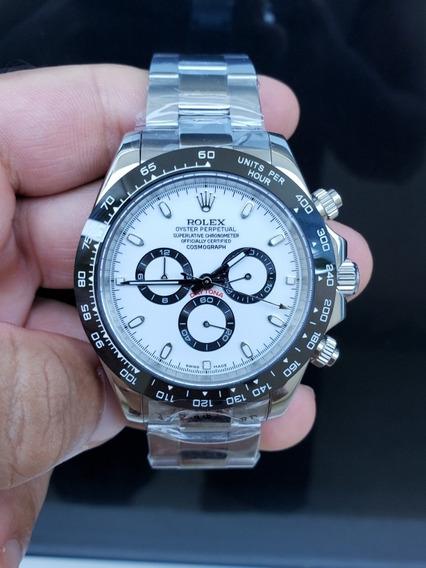 Relógio Rolex Daytona Ceramic Black White Premium Promoção