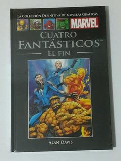 4 Fantasticos: El Fin N°46 Salvat Marvel Tomo Los Germanes
