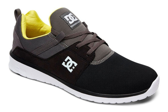 Tenis Hombre Heathrow Adys700071 0bl Dc Shoes Negro
