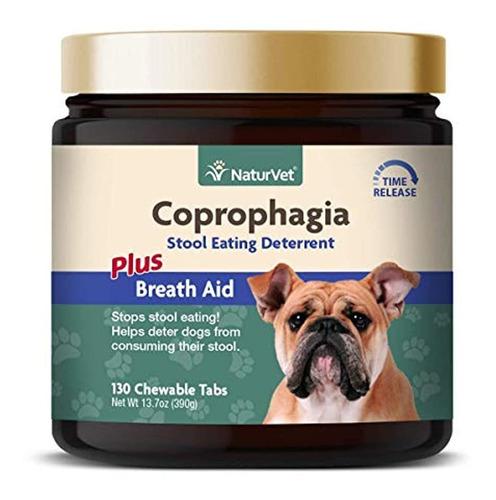 Naturvet  Coprophagia Stool Eating Deterrent Plus Breath Ai