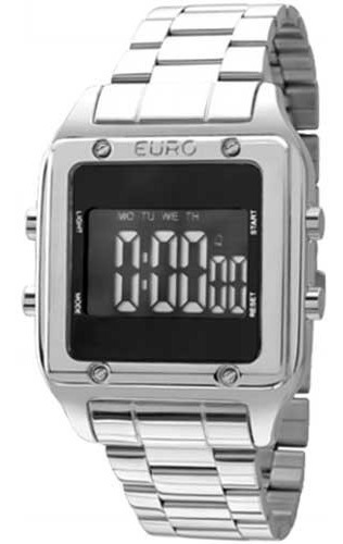 Relógio Euro Feminino Fashion Fit Eug2510ab/3p - Prata