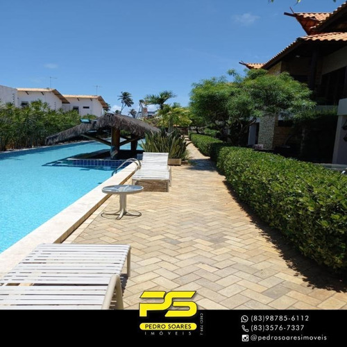 Imagem 1 de 15 de Bangalô Com 3 Dormitórios À Venda, 127 M² Por R$ 600.000 - Camboinha - Cabedelo/pb - Bg0018