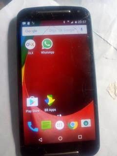 Moto G2 Modelo Xt1068 Android 6.0 16gb.obs: Leia A Descrição