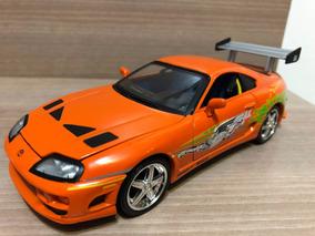 Miniatura Velozes Furiosos Toyota Supra 1:24
