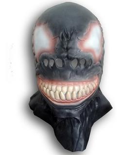 Mascara Latex Venom Marvel Hombre Araña Spiderman Superheroe