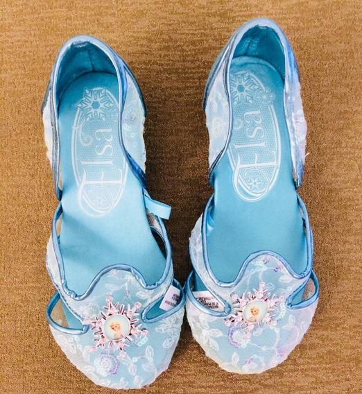 Sapatilha Disney - Princesa Elza Azul