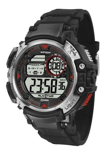 Relógio X-games Masculino Xmgs1019 P2kx