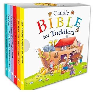 Vela Biblia Para Niños Little Biblioteca 6libros Para Manos