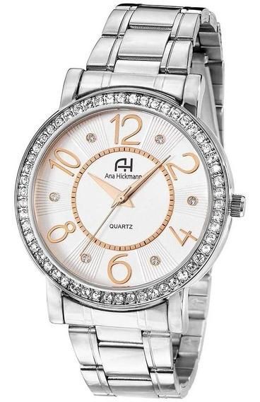Relógio Feminino Strass Ana Hickmann Ah28900q