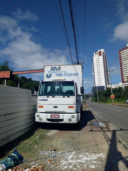 Ford Cargo 1317 Ano 2003 Chassis Longo Baú 9 M