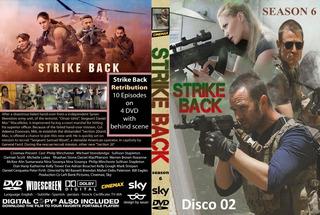 Dvd - Strike Back - As 6 Temporadas - Legendado