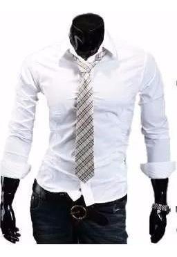 Camisas Entalladas Slim Fit Para Hombre De Diseño