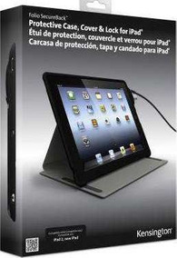 Capa Protetora Kensington Folio Secureback C/ Trava P/ iPad
