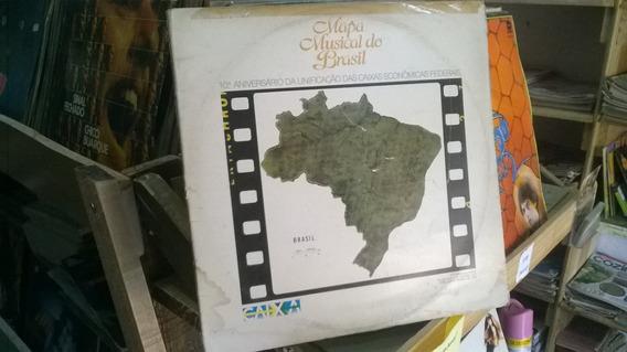 Lp Mapa Musical Do Brasil 10º Aniversario Unificação Caixa