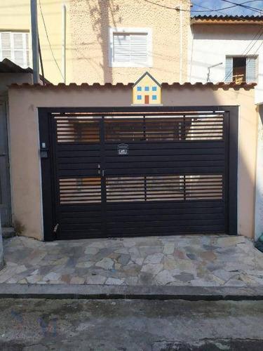 Imagem 1 de 25 de Locação Sobrado Residencial Ou Comercial No Centro De Sbc - So0490