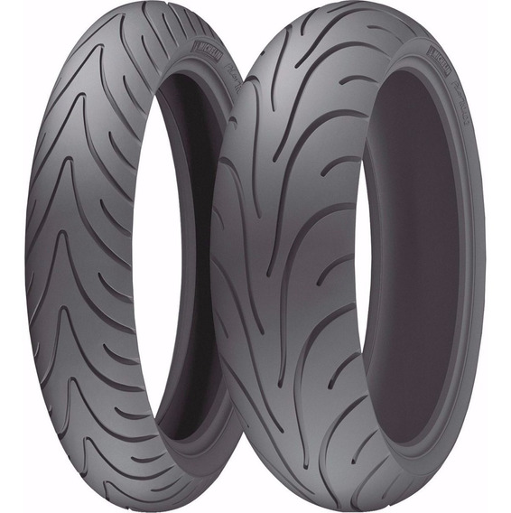 Par De Pneu Pilot Road 2 120/70-17 + 180/55-17 Michelin