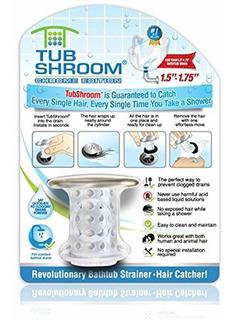 Chrome Edition Revolutionary Tub Drain Protector Colect...