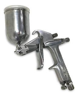Pistola Pintar Retoques Aerografo Eurotech Aluminio Z Norte