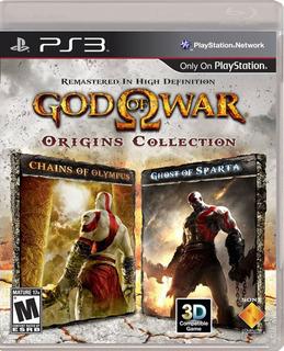 God Of War: Origins Collection Ps3 Digital Entrega Inmediata